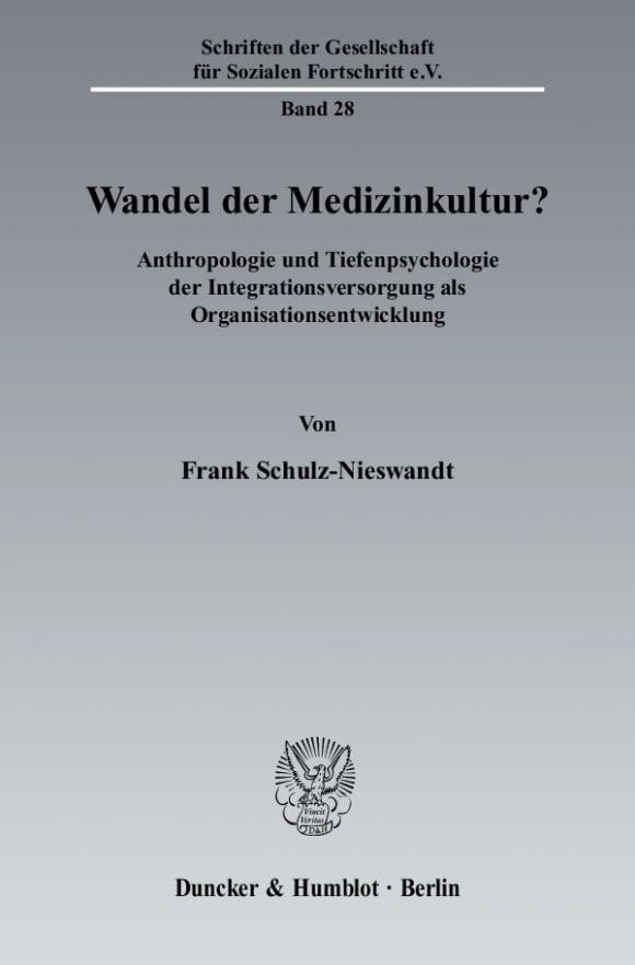 Cover Wandel der Medizinkultur?