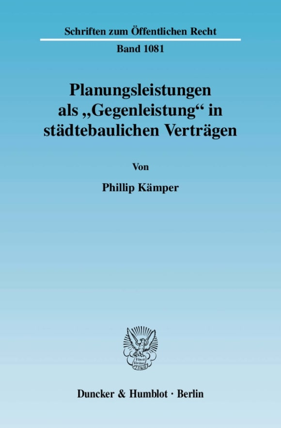 Cover Planungsleistungen als