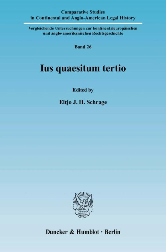 Cover Ius quaesitum tertio
