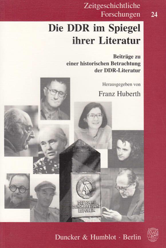 Cover Die DDR im Spiegel ihrer Literatur
