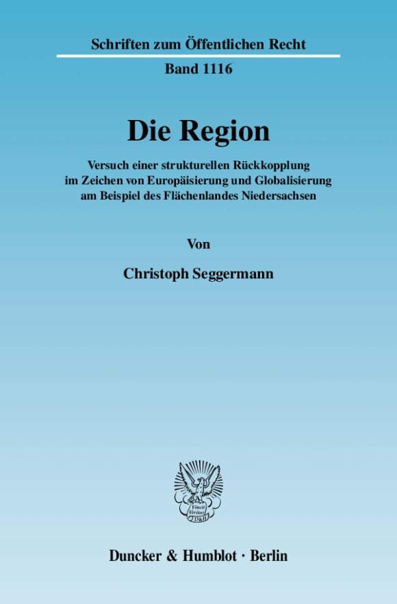 Cover Die Region