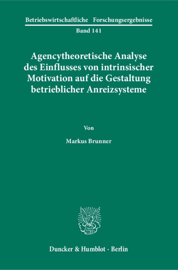 Cover Betriebswirtschaftliche Forschungsergebnisse (BFO)