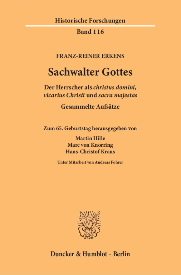Cover Sachwalter Gottes