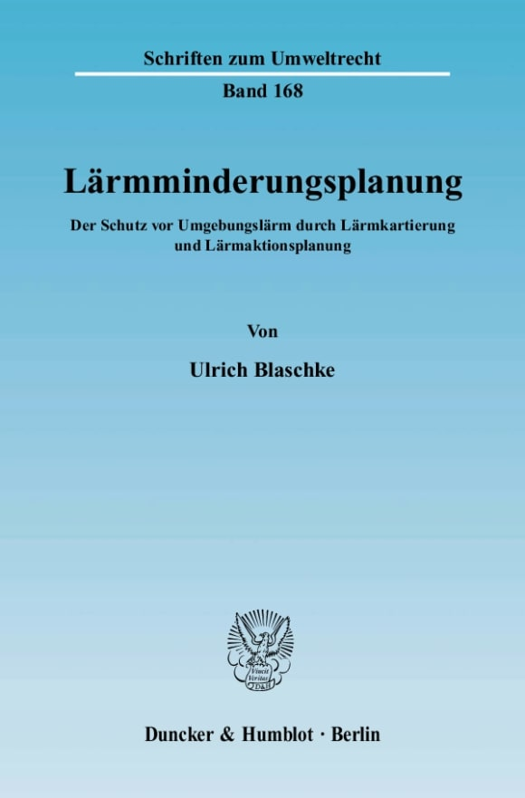 Cover Lärmminderungsplanung