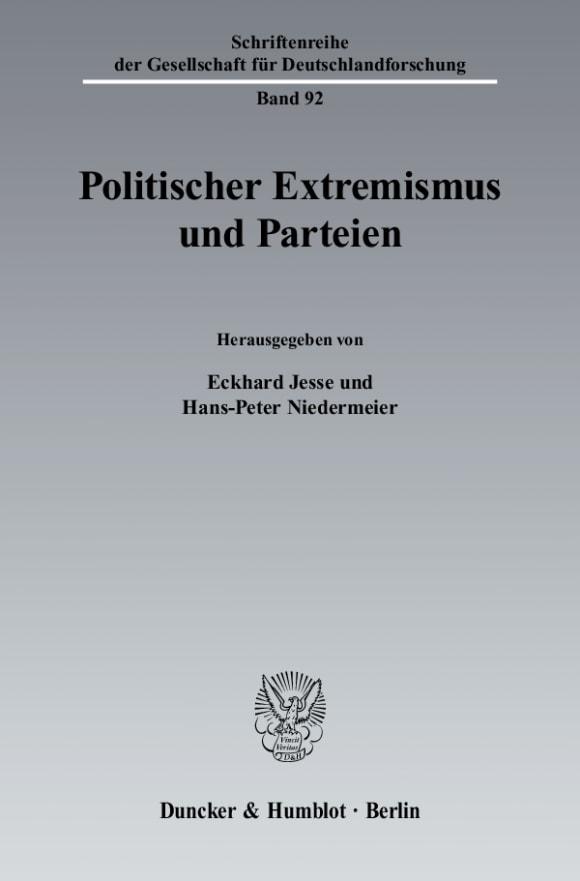 Cover Politischer Extremismus und Parteien