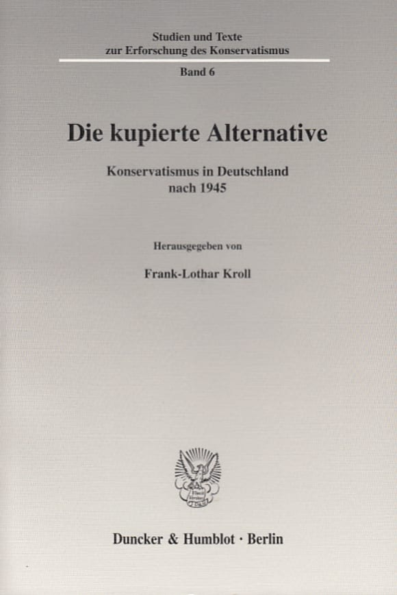 Cover Die kupierte Alternative