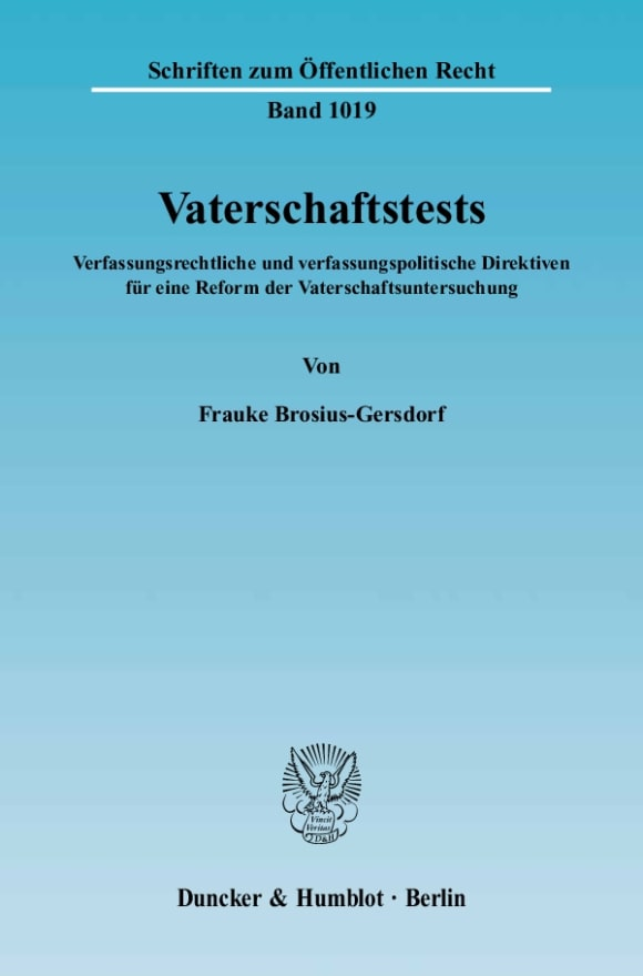 Cover Vaterschaftstests
