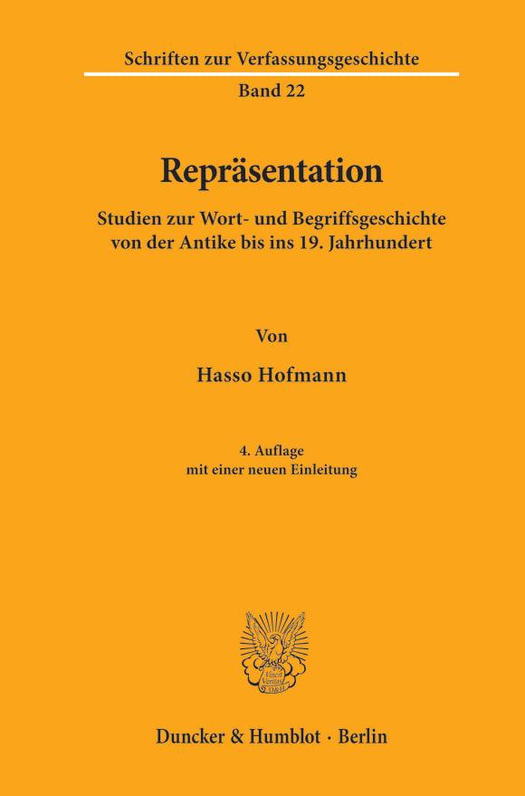 Cover Repräsentation