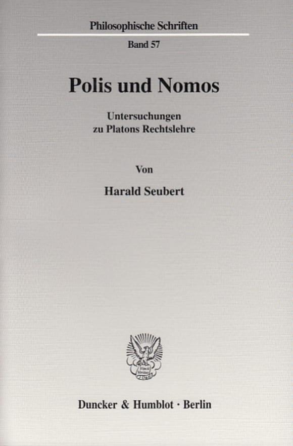 Cover Polis und Nomos