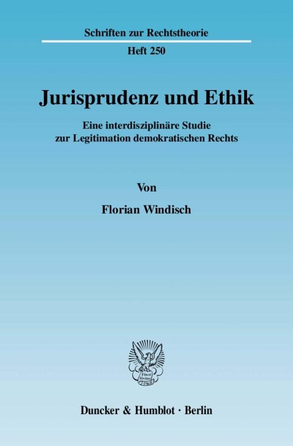 Cover Jurisprudenz und Ethik