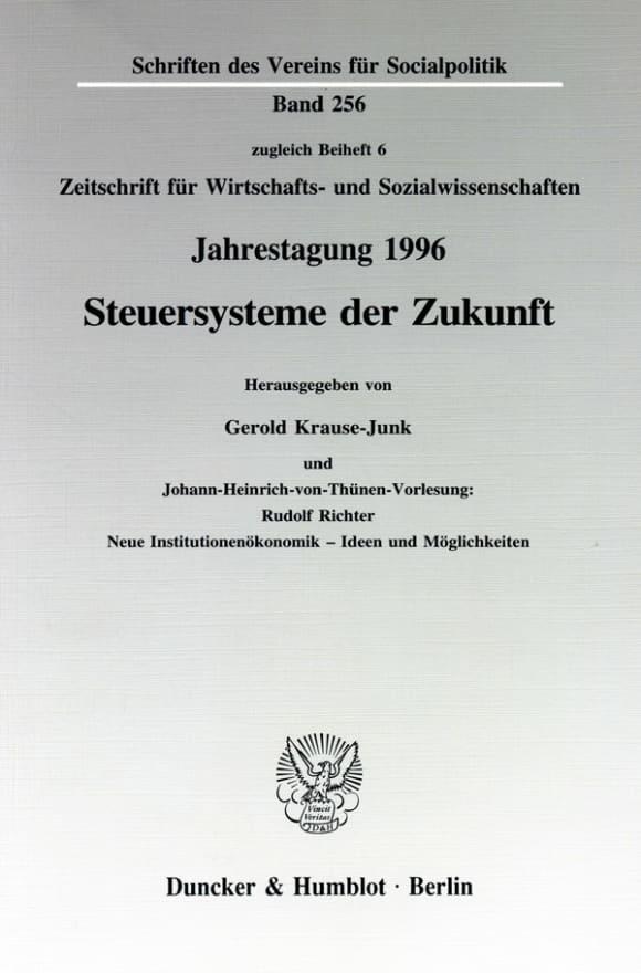 Cover Steuersysteme der Zukunft