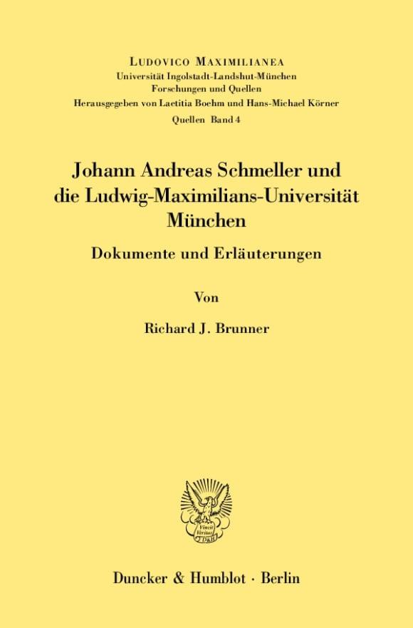 Cover Ludovico Maximilianea. Quellen (LMQ)