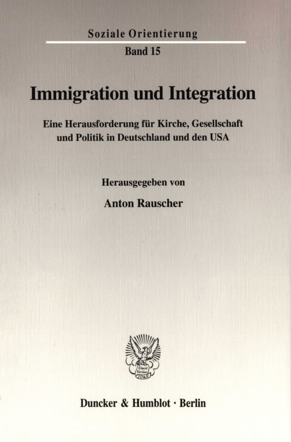 Cover Immigration und Integration