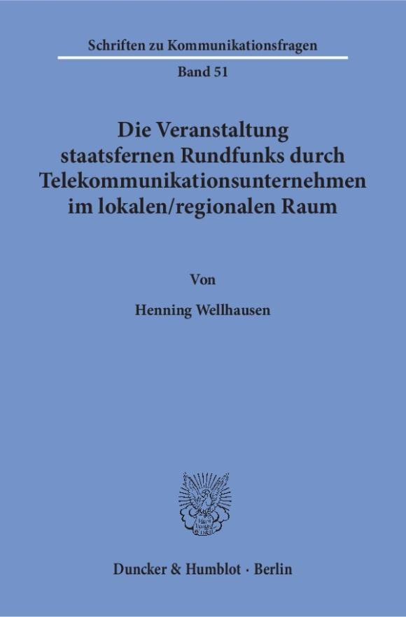 Cover Schriften zu Kommunikationsfragen (SKF)