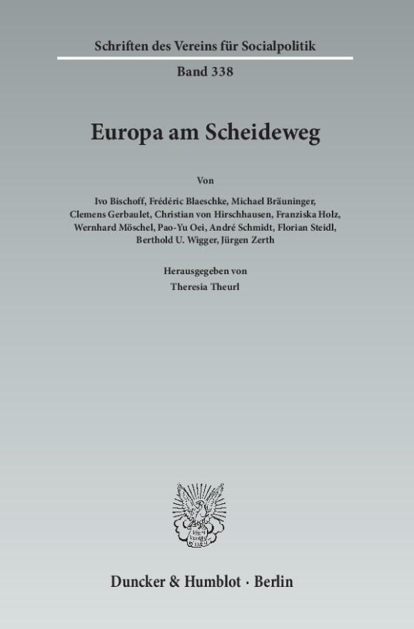 Cover Europa am Scheideweg