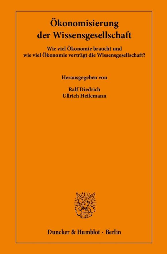 Cover Ökonomisierung der Wissensgesellschaft