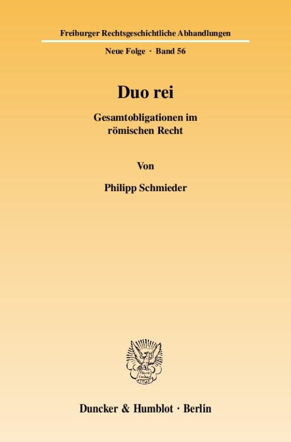 Cover Duo rei