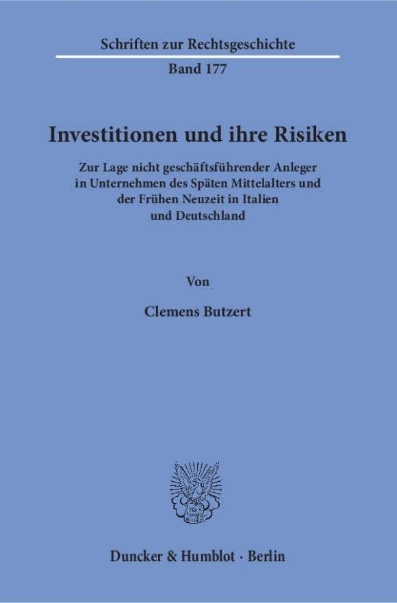 Cover Investitionen und ihre Risiken