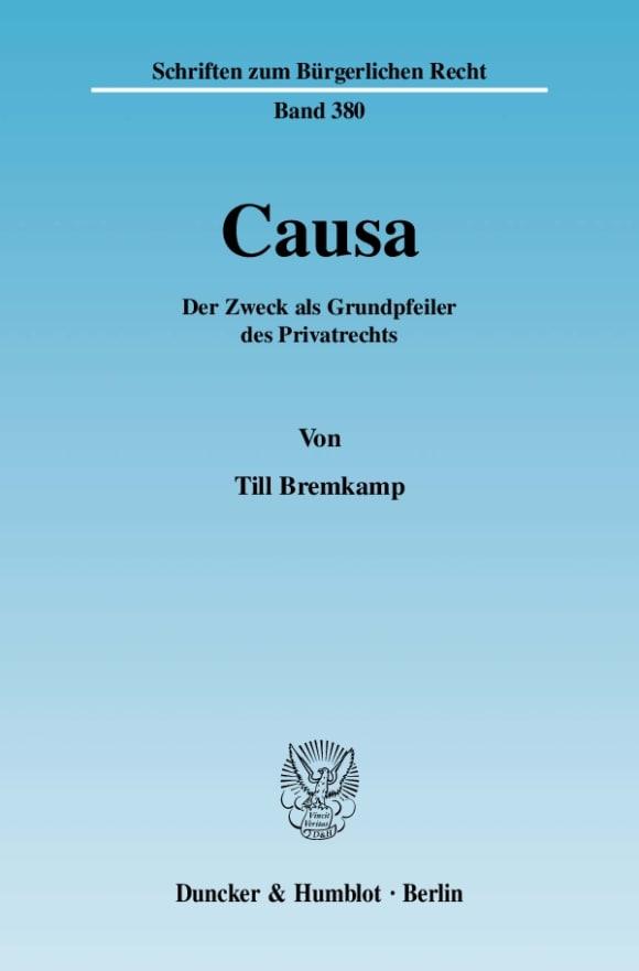 Cover Causa