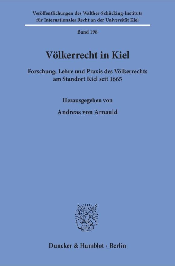 Cover Völkerrecht in Kiel