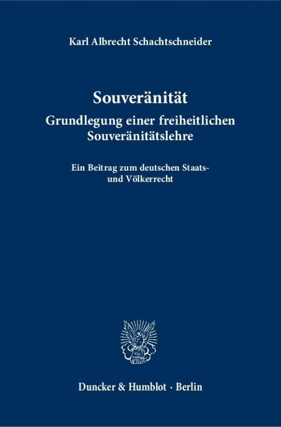 Cover Souveränität