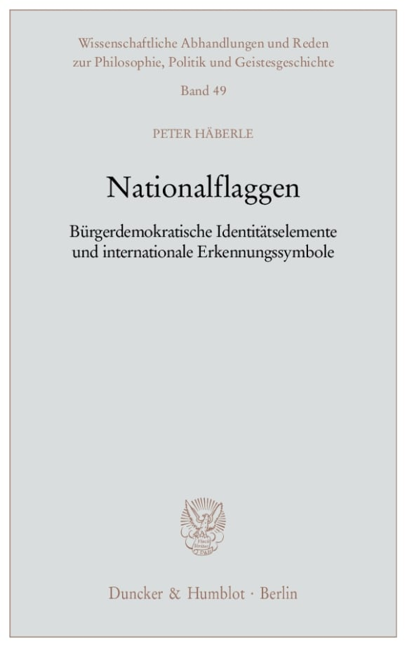 Cover Nationalflaggen