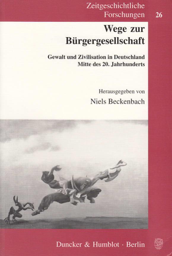 Cover Wege zur Bürgergesellschaft