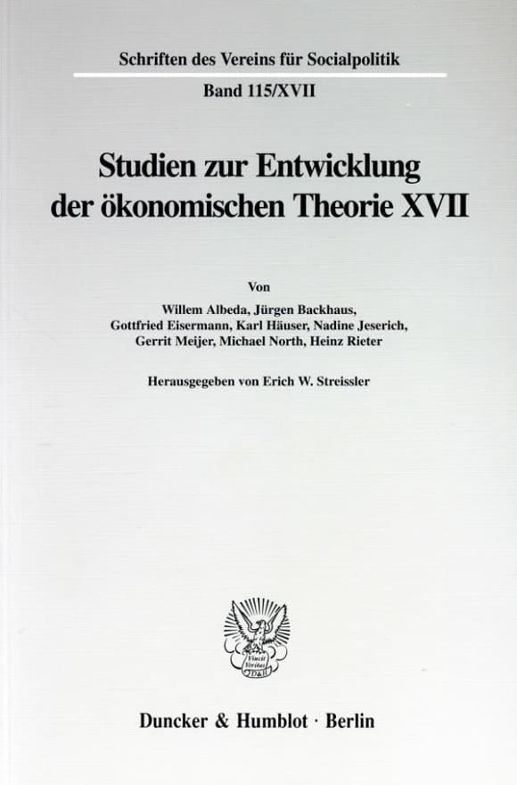 Cover Die Umsetzung wirtschaftspolitischer Grundkonzeptionen in die kontinentaleuropäische Praxis des 19. und 20. Jahrhunderts, II. Teil