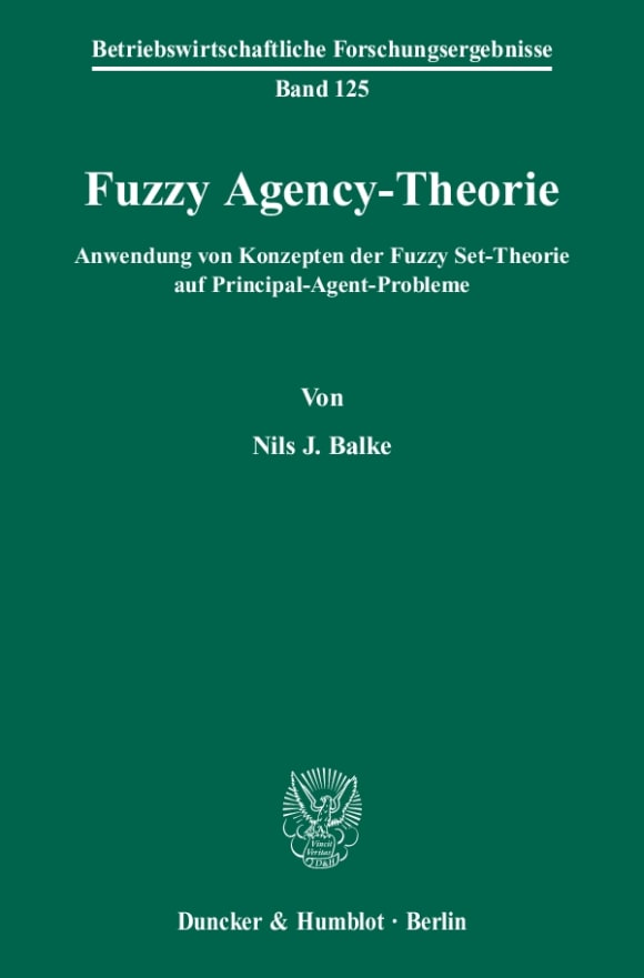 Cover Fuzzy Agency-Theorie