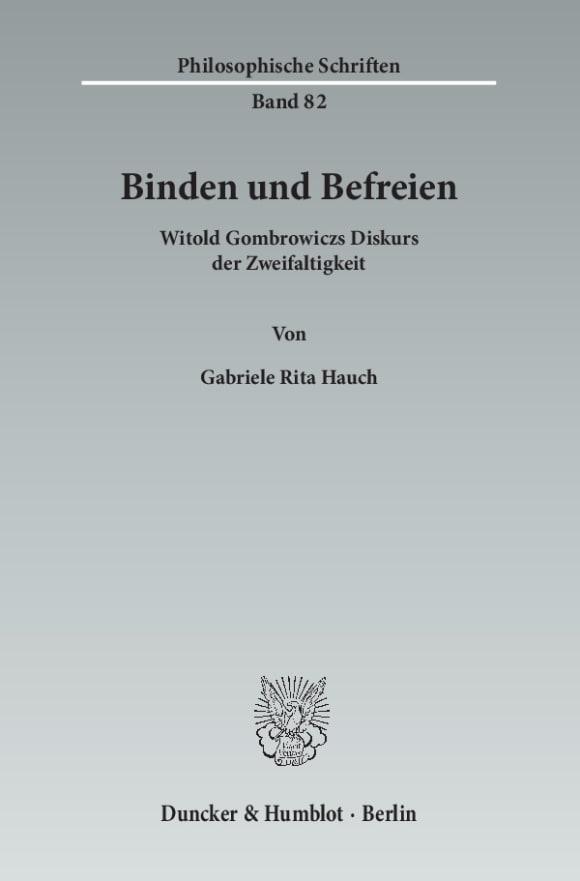 Cover Binden und Befreien