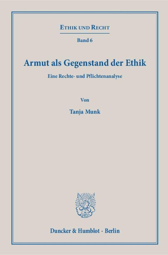 Cover Ethik und Recht (ER)