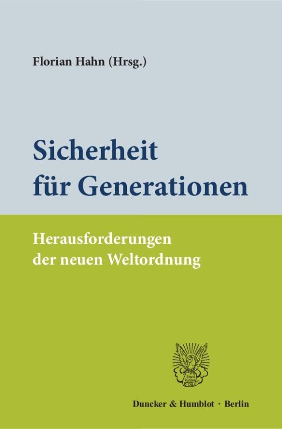 Cover Sicherheit für Generationen