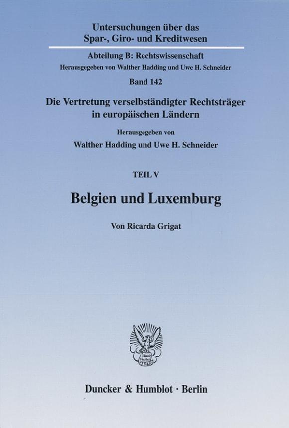 Cover Belgien und Luxemburg