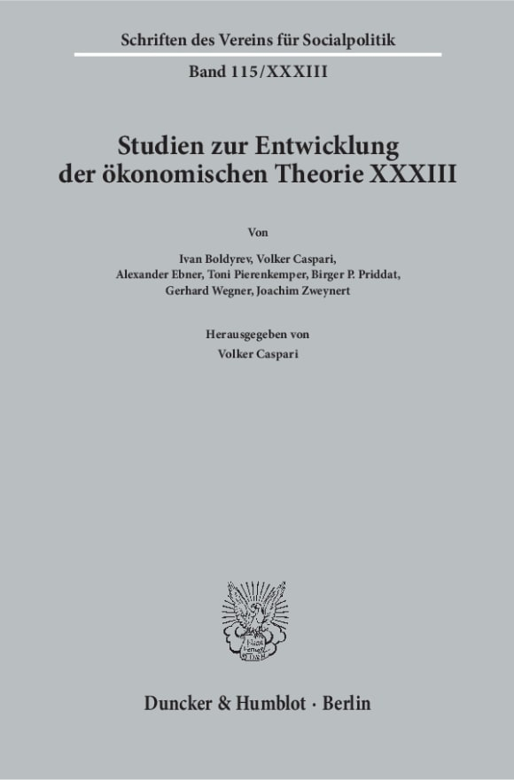 Cover Kontinuität und Wandel in der Institutionenökonomie