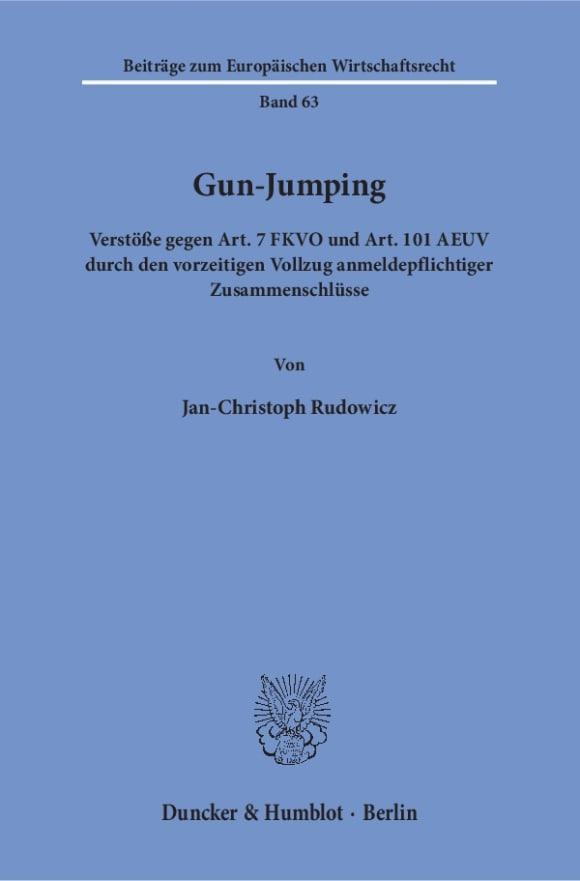 Cover Gun-Jumping