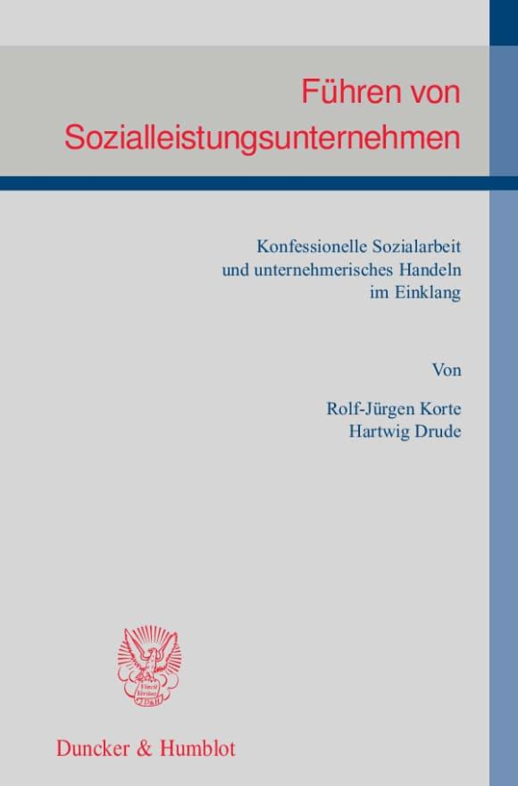Cover Führen von Sozialleistungsunternehmen