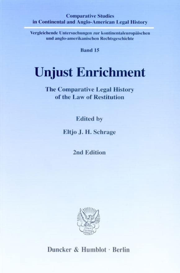 Cover Unjust Enrichment