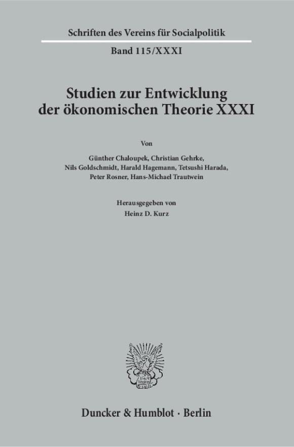 Cover Geschichte der Entwicklungstheorien