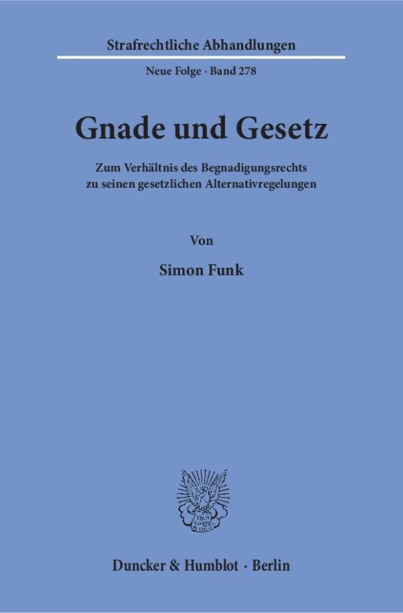 Cover Gnade und Gesetz