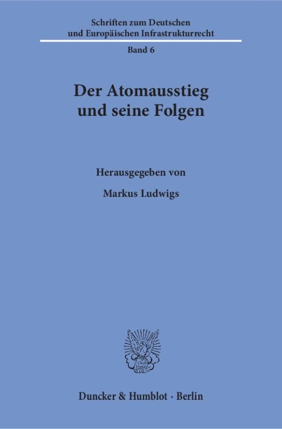 Cover Der Atomausstieg und seine Folgen