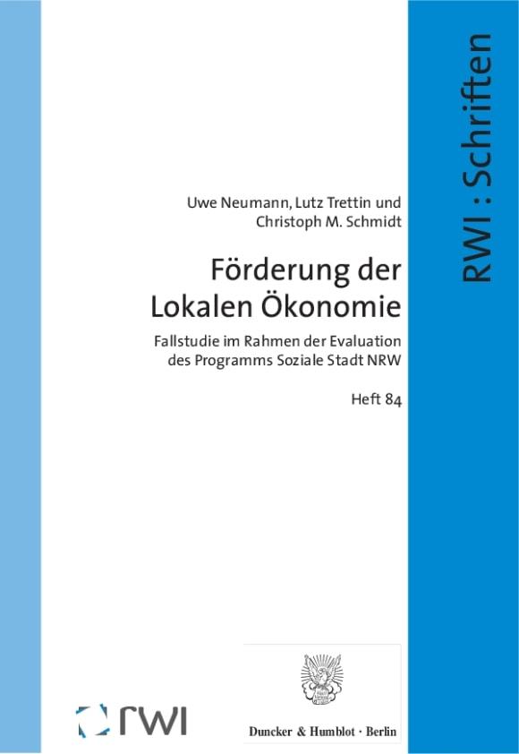 Cover Förderung der Lokalen Ökonomie