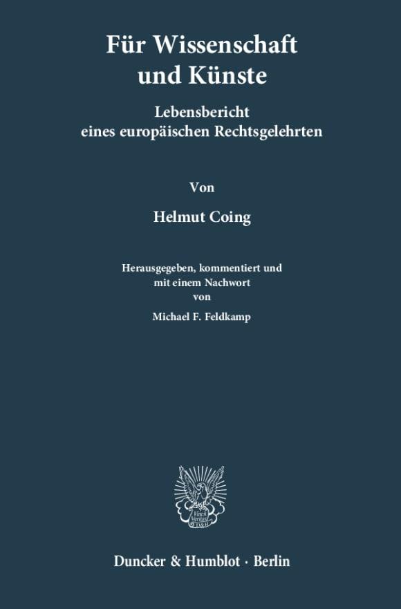 Cover Für Wissenschaften und Künste