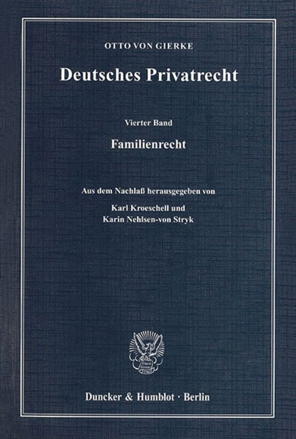 Cover Deutsches Privatrecht