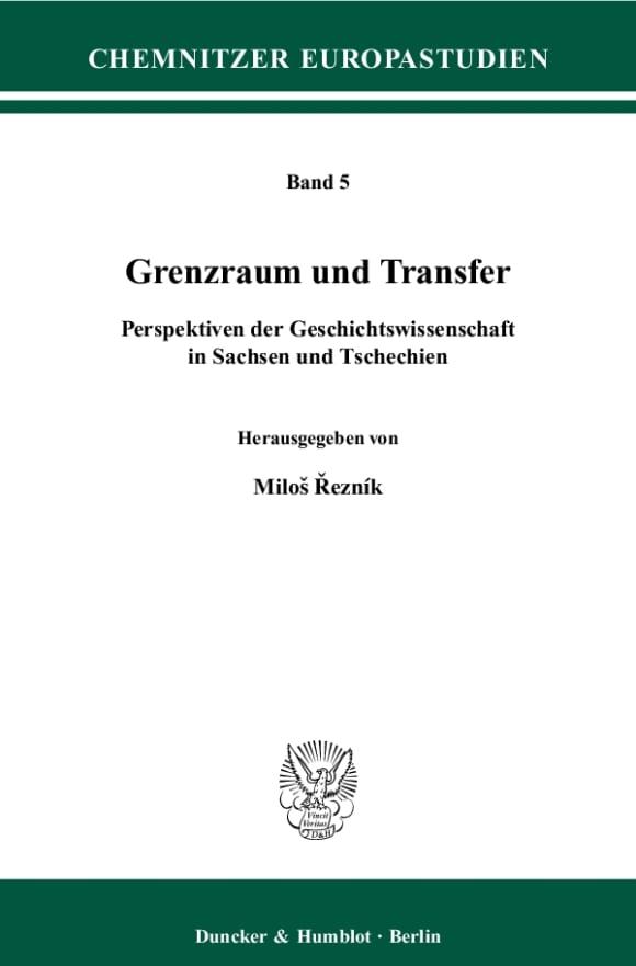 Cover Grenzraum und Transfer