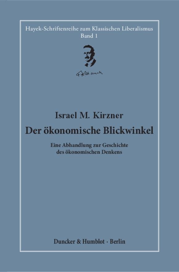 Cover Der ökonomische Blickwinkel
