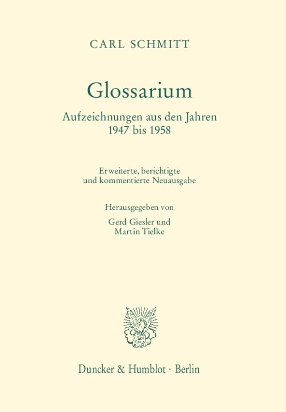 Cover Glossarium