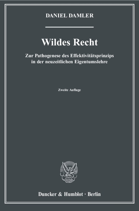 Cover Wildes Recht