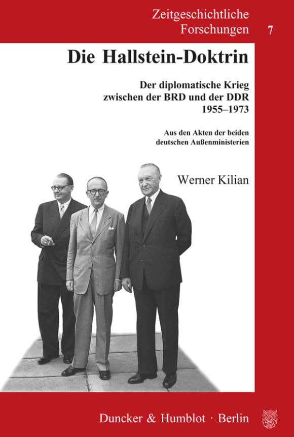 Cover Die Hallstein-Doktrin