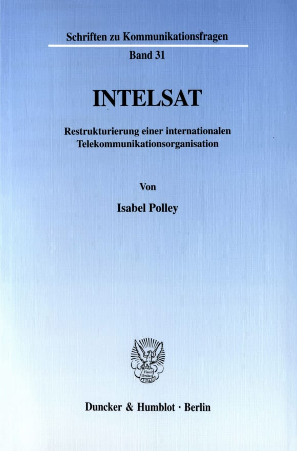 Cover INTELSAT