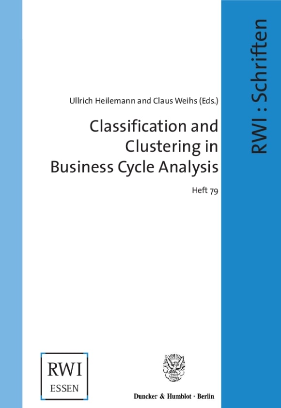 Cover Classification and Clustering in Business Cycle Analysis